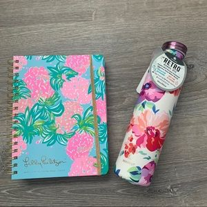 Lilly Pulitzer Planner & Manna Water Flask